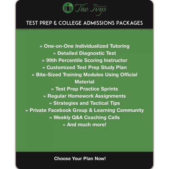 test prep and college admission packages